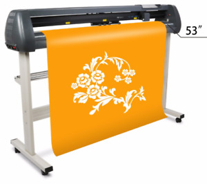 1350 Mm 53 Lcd Sign Sticker Vinyl Cutter Cutting Plotter Sk1350t Free Shipping