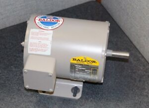 M3107 5 1 2 Hp 3450 Rpm Baldor Electric Buffer Motor