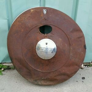 1930 S 1940 S Plymouth Spare Tire Cover Holder Rat Rod