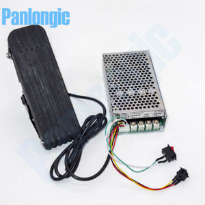 Footboard Hall Throttle 10 50v 100a Reversible Pwm Dc Motor Speed Controller