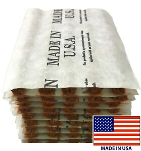 50 Piece Brown 4 Tire Plug Insert String Tubeless Tyre Repair Seals Usa Made