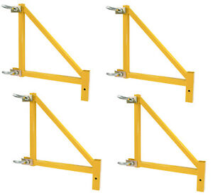 Pro series 4 Piece Set 18 Inch Scaffolding Outriggers