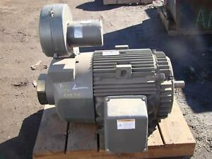 Ge 100hp Severe Duty Electric Motor W Ge Blower 5ks49mn4583b 460v R80600le081lc