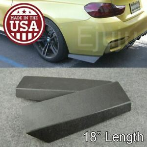 18 Rear Bumper Lip Apron Splitter Diffuser Valence Bottom Line For Mazda Subaru