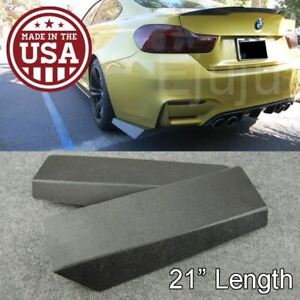 21 Rear Bumper Lip Downforce Apron Splitter Diffuser Valence For Vw Porsche