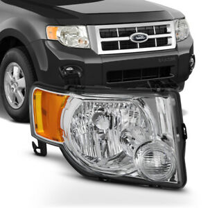 For 08 12 Ford Escape Headlight Lamp Factory Style Right Passenger Side Assembly