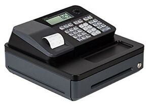 Electronic Cash Register Till Money Drawer Receipt Thermal Printer 2 Led Display
