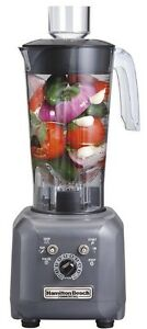 Commercial Blender Hamilton Beach Chop Emulsion 48 Oz Home Culinary Puree Food
