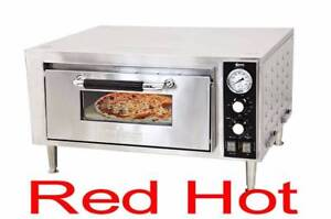 Omcan 24210 Pe cn 1800 s Restaurant Single Chamber Counter Top 18 Pizza Oven