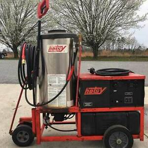 Used Hotsy 1410ss Electric 4gpm 3000psi Hot Water Pressure Washer
