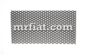 Mercedes 180 Ponton 1953 62 Stainless Steel 170x190 Mm Radio Grill New