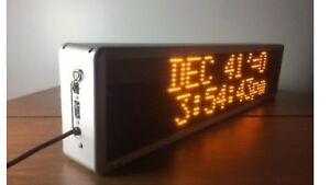 Signtronix Interior Programmable Led Sign 40 x9 375 x4 5 W Rs 232