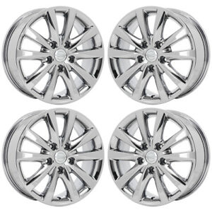 17 Chrysler Town Country Pacifica Pvd Chrome Wheels Rims Factory Oem Set 2531