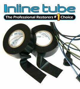 2 Rolls Factory Electrical Non Adhesive Wiring Harness Friction Tape Oem A Nos