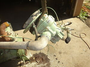 Sullair 185 Cfm Air Compressor Pump Airend End Head John Deere Diesel