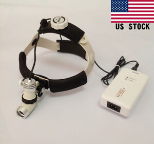 3w Dental Led Surgical Headlight Medical Head Light Lamp Kd 202a 3 Us Stock