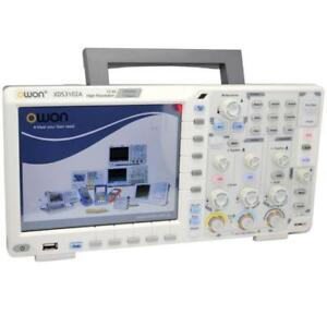 Owon Xds3102a Digital Storage Oscilloscope Free Touch Screen 12 bit Adc 3yrs War
