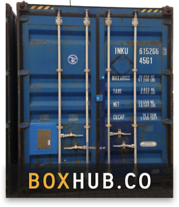 20ft Used Shipping Container In Cargo worthy Condition