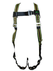 Miller Duraflex Stretchable Full Body Harness With Back D ring