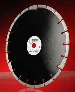 12 Asphalt Laser Welded Blade With Under Cut Protection Free Shipping
