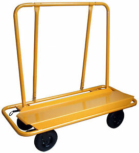 Pro series Dwcart 3000 Lbs Capacity Drywall Cart With Preimum 8 Swivel Casters
