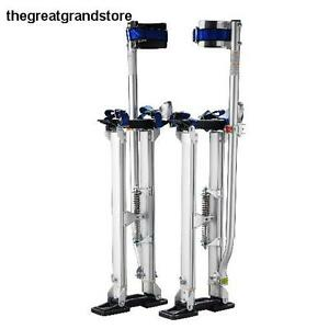 Pentagon Tool Tall Guyz Professional 18 30 Drywall Stilts Action Wobble Alloy