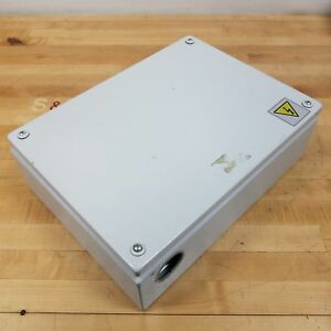 Rittal Kl1508 Electrical Junction Box Enclosure 400mm X 300mm X 120mm Used