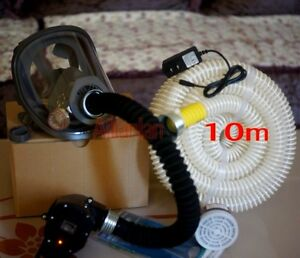 Power Supplied Fresh Air Respirator Air Fed Breathing System 6800 Full Face Mask