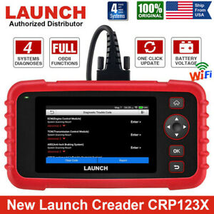 Launch Creader X431 Crp123 Obd2 Car Diagnostic Scanner Tool Abs Srs Transmission