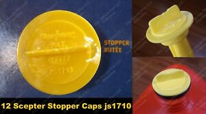 12 Scepter Stopper Cap Disk Js1710 710 New Repl Gas Gallon Can Disc Part Moeller