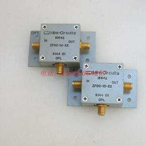 1pc Mini circuits Zfdc 10 22 1 750mhz 10db Rf Sma Directional Coupler yh 46