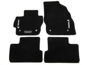 New Oem 2010 2013 Mazda 3 Mazda3 Black Carpet 4 Pieces Set Floor Mats W Logo
