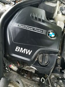 2014 Bmw 320 Engine With Automatic Transmission Transfer Case Subframe Turbo