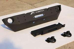 New Jeep Wrangler Stubby Front Bumper Rubicon Fits Jeep Wrangler 2007 2017