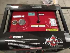 H D Powersystems Hdg9000er Tri Fuel Generator Gasoline propane natural Gas 3350