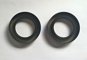 1937 1948 Plymouth Dodge Desoto Chrysler Front Wheel Dust Seals 6 Cylinder Only
