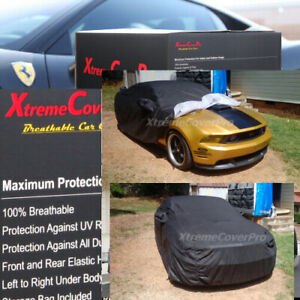 2010 2011 2012 2013 Ford Mustang Coupe Breathable Car Cover W mirrorpocket