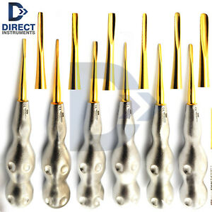 New Pattern Handle Luxating Root Elevators Coupland Tooth Extracting Surgery Kit