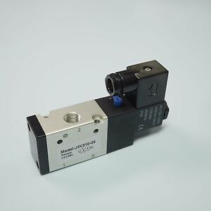 1 4 Pneumatic 3 2 Way Electric Control Solenoid Valve 3v310 08 ac110v