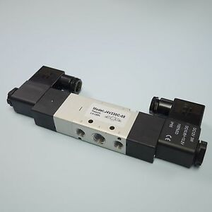 1 4 5 3 Way Electric Control Solenoid Valve Double Coil 4v230c 08 12v
