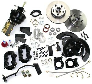 1967 1968 1969 Mustang Front Disc Brake Conversion Kit Power Automatic Trans V8