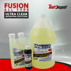 Fusion Tint Slip Solution 1 Gallon All Type Installation Solution Concentrate