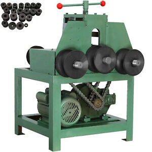 Electric Pipe Tube Bender With 9 Round And 8 Square Die Set 5 8 3 W g76