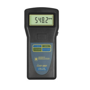 1pc Dt 2857 Digital Tachometer Laser Type Photo Contact 2 5 99 999rpm New