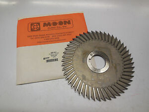 Moon Ss6156 1 Straight Tooth Slitting Saw 6 X 5 32 X 1 1 4 X 48t Milling Cutter