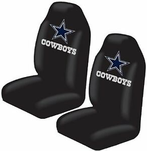Front Car Truck Suv Bucket Seat Covers Nfl Dallas Cowboys Pair