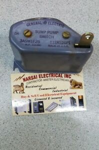 General Electric 112a526p1 Sump Pump Switch