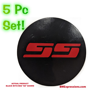 Ss Chevy Wheel Center Cap 2 5 Overlay Decals Choose Your Colors 5 In A Set