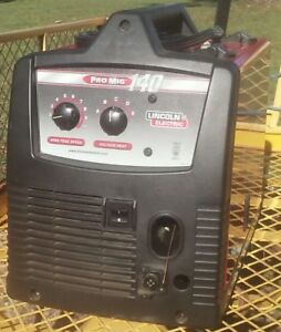 Lincoln Electric Promig 140t Welding Machine With Accessories