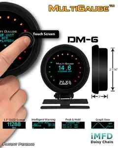 Plx Devices Dm 6 Touch Gauge Free 2 day Priority Shipping